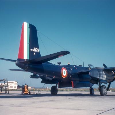 1961 - ECN 1/71 sur B-26 N en Algérie