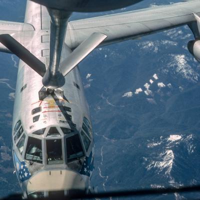 Ravitaillement B-52 depuis un C-135F
