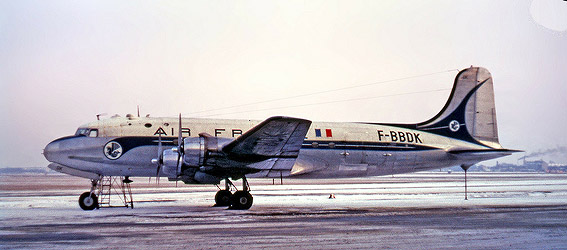 Air france dc 4 b