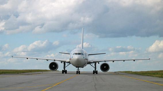 Airbus de face