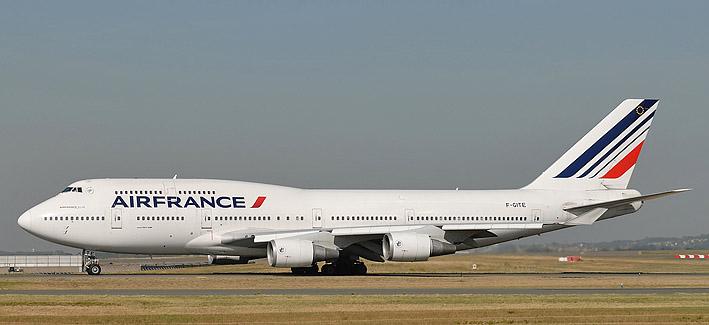 B 747 af