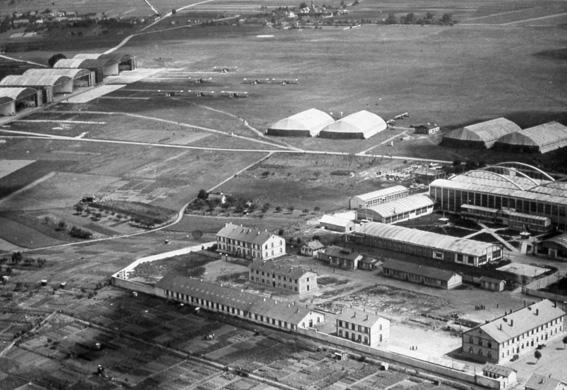 Base de chartres champhol en 1928