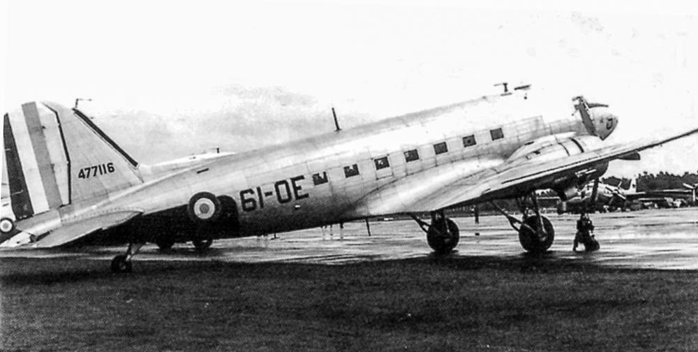 C-47 116 fraoe juillet 1955