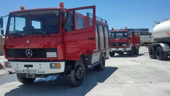 Camions pompier