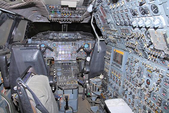 Cockpit concorde