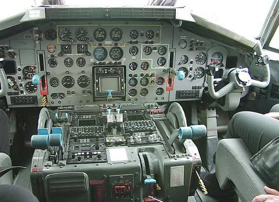 Cockpit transall