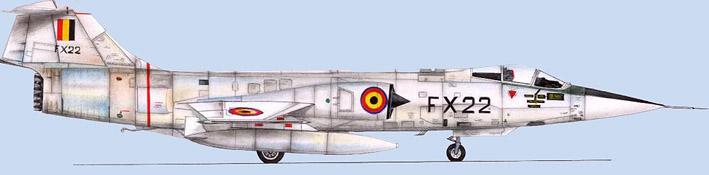 F 104 belge