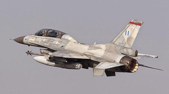 F 16 grec