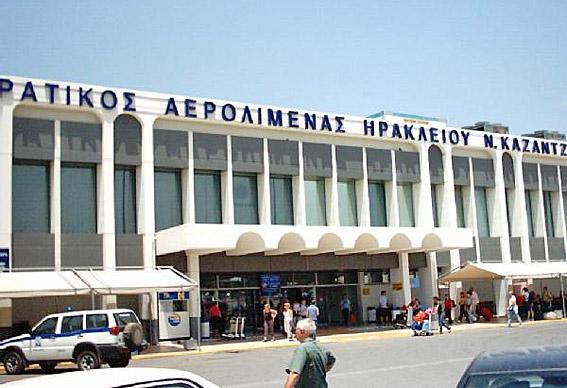 Heraklion airport
