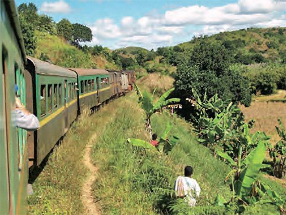 Le train de manakara