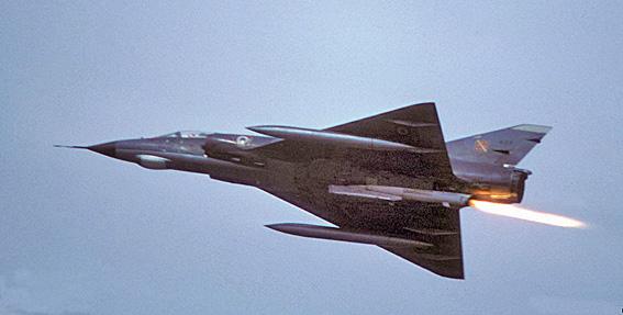 Mirage3e fusee